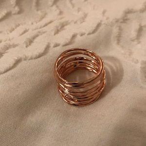 Gorjana rose gold ring